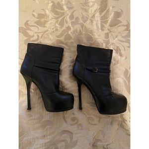 Authentic YSL ankle boots